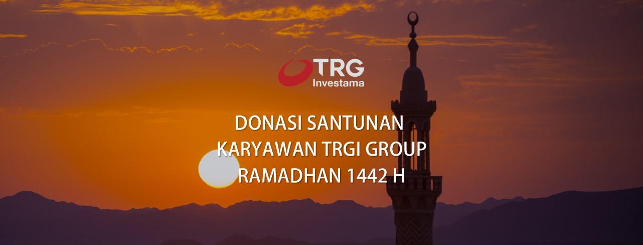 Karyawan TRGI Group Bagikan Santunan Untuk Anak Yatim