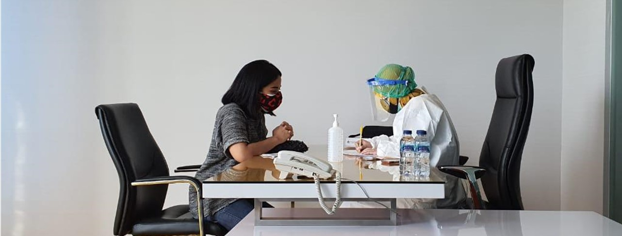 TRGI Adakan Vaksinasi untuk Karyawan