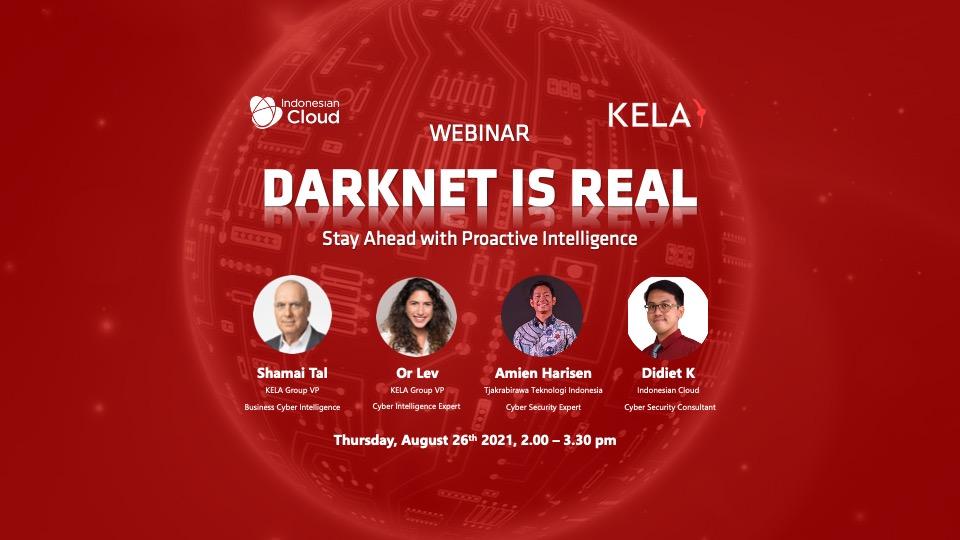 Indonesian Cloud Adakan Webinar : DARKNET IS REAL