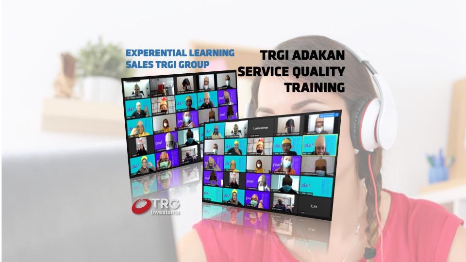 TRGI ADAKAN SERVICE QUALITY TRAINING