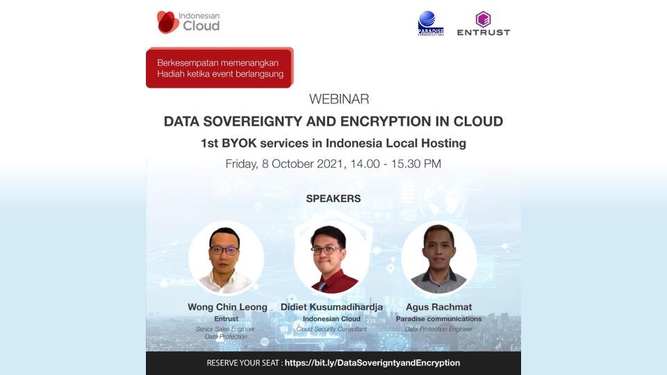Indonesian Cloud Adakan Webinar Data Sovereignty and Encription in Cloud