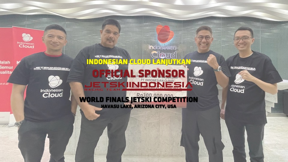 Indonesian Cloud Lanjutkan Sponsorship Jetski Indonesia